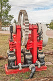 Steam Operated Water Pump Stock Photo