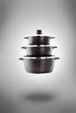 Steam over cooking pot Royalty Free Stock Photos