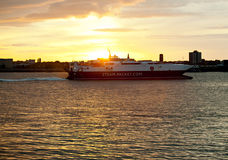Free Steam Packet Ferry Royalty Free Stock Photo - 21352615