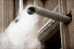 Steam pipe Stock Images