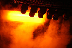 Steam from Pipes Abstract Royalty Free Stock Photography