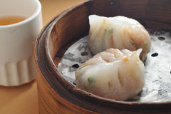 Steam Pork dumpling Royalty Free Stock Photography