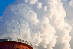Steam power plant royalty free stock image