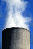 Steam from power plant royalty free stock photo