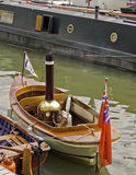 Steam powered boats Stock Photos