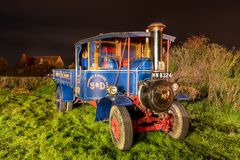 Free Steam Powered Lorry Stock Images - 165966394