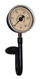 Steam pressure gauge Stock Photo