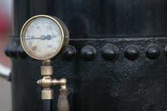 Steam Pressure gauge Stock Photos