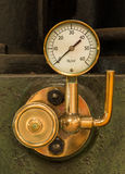 Steam Pressure Gauge Royalty Free Stock Image