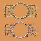 Steam Punk Classic Frame Royalty Free Stock Image