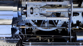 Steam-punk engine background Royalty Free Stock Images