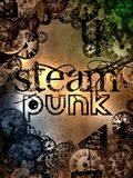 Steam punk logo sign Royalty Free Stock Photo