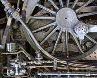 Steam-punk mechanical background Royalty Free Stock Photography