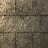 Steam punk metal plate texture Stock Photo