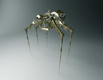 Steam punk Spider Stock Photography