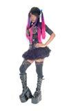 Steam punk woman full body. Stock Photography