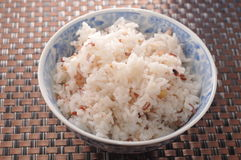 Steam rice Stock Photography