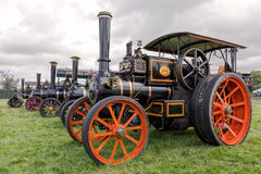 McLaren Steam Road locomotive, Hanbury Countryside Show, England. A  magnificent three speed steam road locomotive built in 1911 by J & H McLaren of Leeds. In Stock Photography