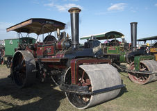 Steam Road Roller at Dorset Steam Fair Stock Photos