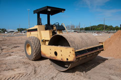 Steam Roller Royalty Free Stock Photos