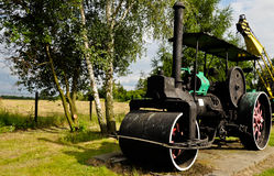Steam roller Stock Image