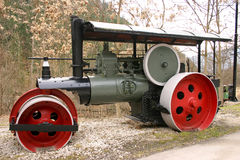 Steam roller Stock Image