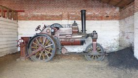 Steam Roller Royalty Free Stock Photography