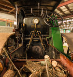 Steam Roller Cab Royalty Free Stock Photos