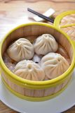 Shanghai soup dumpling. Steam Shanghai soup pork dumpling Stock Photography