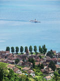 Lake Geneva, Switzerland Royalty Free Stock Photos