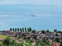 Lake Geneva, Switzerland Stock Photo