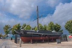 Steam Ship Puffer Comet of Port Glasgow. stock photos