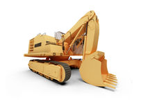 Steam shovel bulldozer Royalty Free Stock Photography