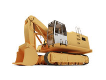 Steam shovel bulldozer Stock Photography