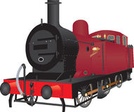 Steam Shunting Locomotive Stock Images