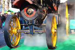 Steam from a steam engine. Royalty Free Stock Images