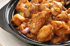 Steam Tofu Royalty Free Stock Images