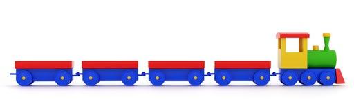 Steam toy locomotive Stock Image