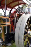 Steam Traction Engine. Cab and controls of a steam traction engine Stock Image