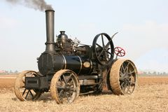 Steam traction engine Royalty Free Stock Image