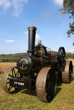 Steam traction engine. Vintage traction engine at Loseley Park England Royalty Free Stock Photos