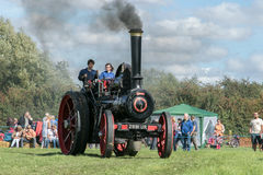 Steam traction engine Royalty Free Stock Photography