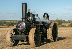 Steam traction engine Stock Photos