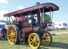 Steam Traction Engine Royalty Free Stock Images