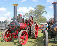 Steam Traction engine Stock Photo