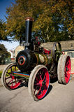 STEAM TRACTION ENGINES. Beautiful Steam Engine ready to go Royalty Free Stock Images