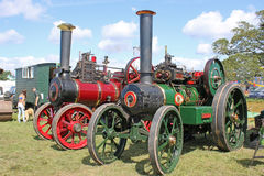 Steam Traction engines Royalty Free Stock Photos