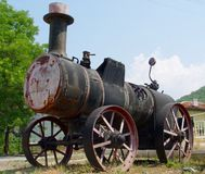 Steam tractor Royalty Free Stock Photos
