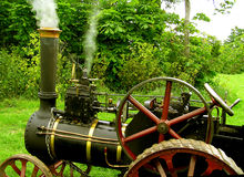 Steam Tractor. Early farm tractor Stock Image