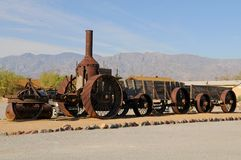 Steam Tractor Royalty Free Stock Image